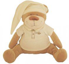 Babiage plišasti pripomoček za spanje DooDoo, medvedek, bež