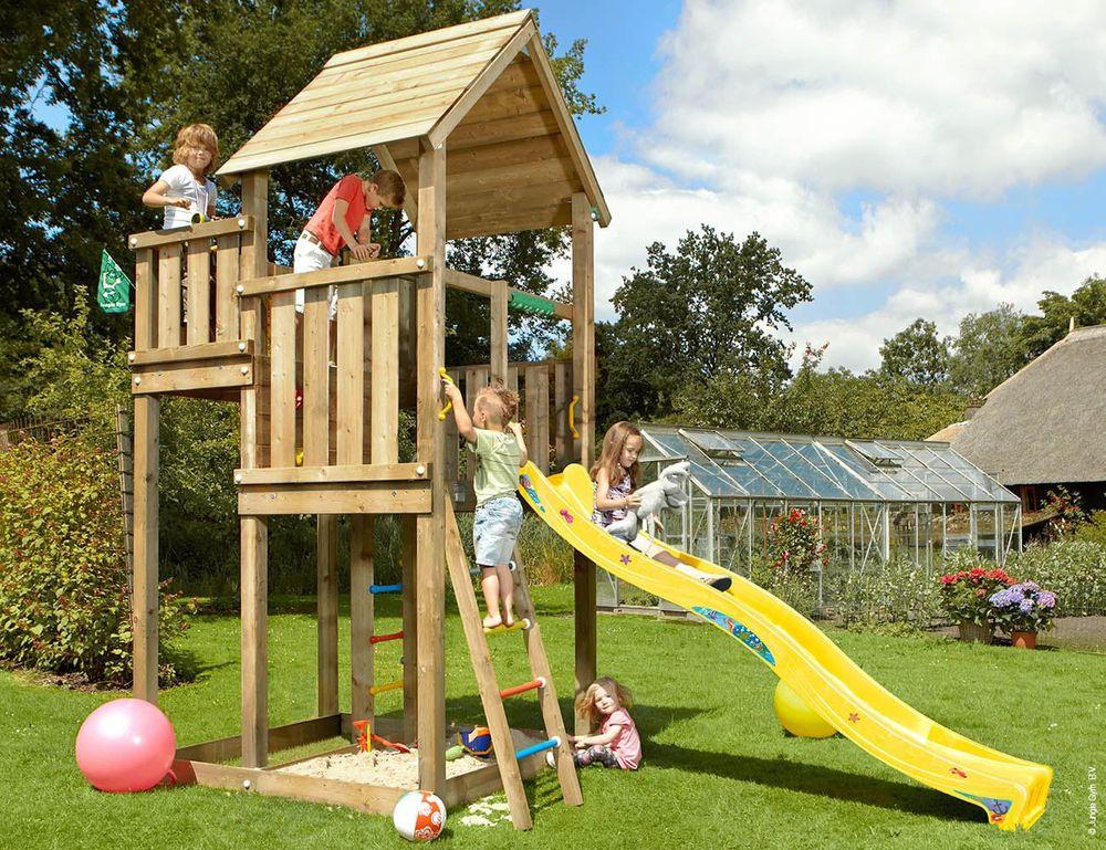 Jungle Gym Dětské hřiště Palace – žlutá