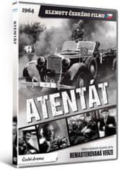 Atentát - edice KLENOTY ČESKÉHO FILMU (remasterovaná verze) - DVD
