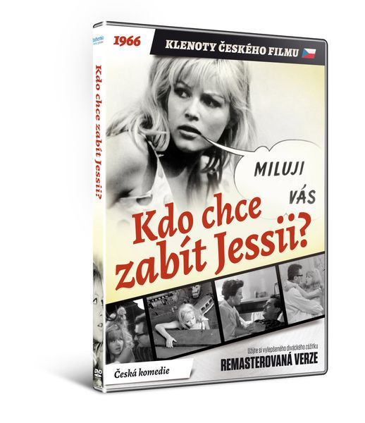 Kdo chce zabít Jessii? - edice KLENOTY ČESKÉHO FILMU (remasterovaná verze) - DVD
