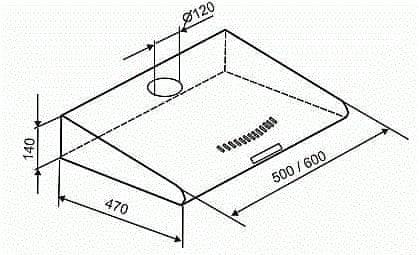 Mora OP 532 W - rozbaleno