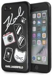 Karl Lagerfeld ovitek Pins Hard Case Black KLHCI8PIN za iPhone 7 /8/SE 2020