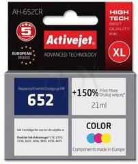 ActiveJet črnilo HP 652, barvno