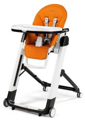 Peg Perego stol za hranjenje Siesta Follow Me, Arancia 2021, oranžen