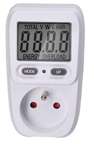 Solight digitální měřič spotřeby el. Energie - zánovní