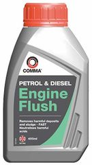 COMMA Přípravek na vypláchnutí motoru před výměnou oleje (benzín i diesel), 400 ml