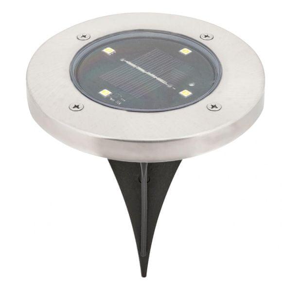 Rabalux Venkovní zápustné solární světlo Dannet 7975