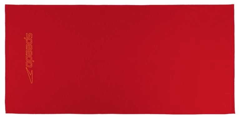 Speedo Light Towel 75 × 150cm Red