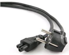 C-Tech Kabel síťový 1,8 m VDE 220/230 V napájecí notebook 3 pin Schuko CB-PWRC5-18