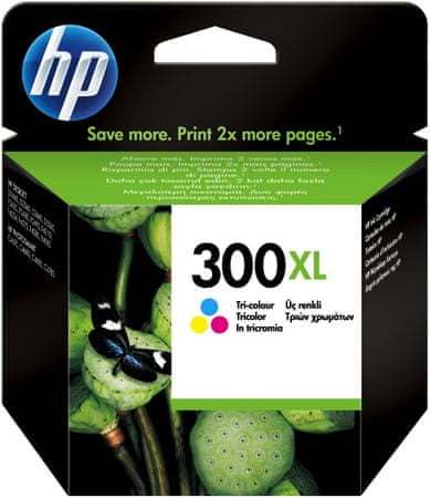 HP CC644EE, č.300XL, barevná