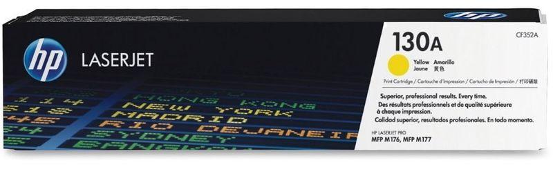 HP Toner HP 130A žlutý (CF352A)