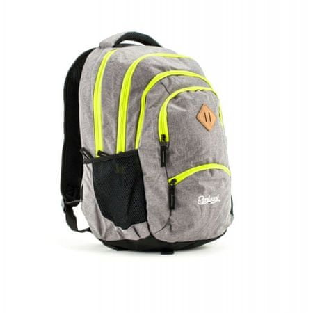 Rucksack nahrbtnik Only Grand 35l, Grey Gray Fluo Color Zipper