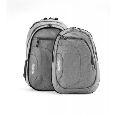 Rucksack nahrbtnik Only Doubler 2in1, 25+10l, Grey Gray