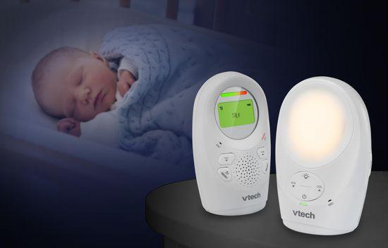 Vtech DM1211, dětská chůvička s displejem a nočním světlem - zánovní