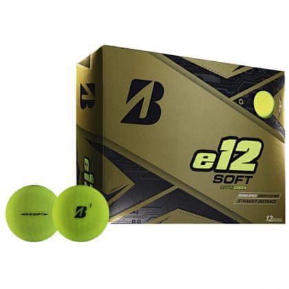 Bridgestone e12 Soft Matte Green míčky 12 ks