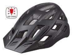 Etape kolesarska čelada Virt Light, z lučjo, S/M, mat črna