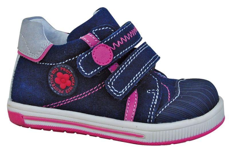 64dc6b98ce16 Protetika kotnikove boty falko 22 modra levně