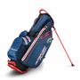 1 - Callaway Hyper Dry Fusion Stand Bag modrá-šedá-oranžová
