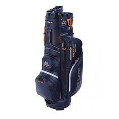 BigMax Big Max Dri Lite Silencio Cart Bag Navy-oranžová