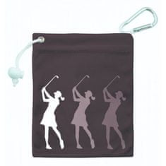 Girls Golf Tee & Accessory Bag černá