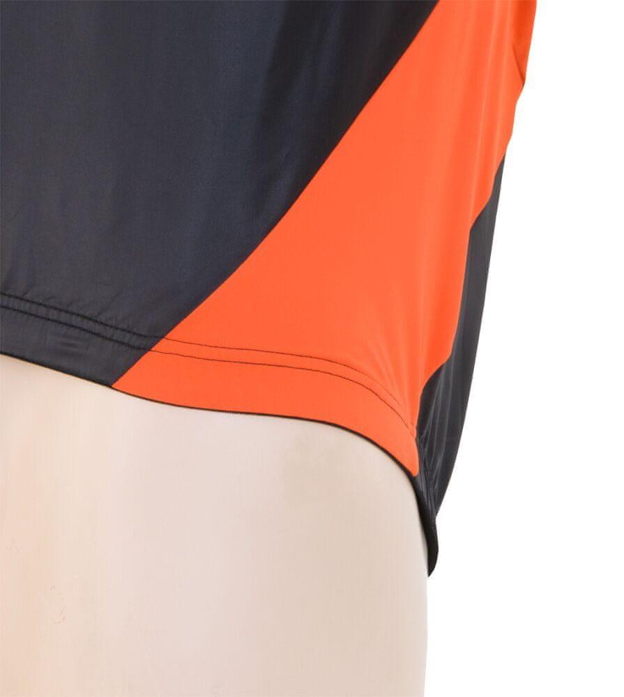 Sensor Parachute Extralite pánská vesta černá/oranžová -M