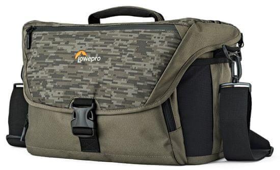 Lowepro naramna torba Nova 200 AW II, pixel camo