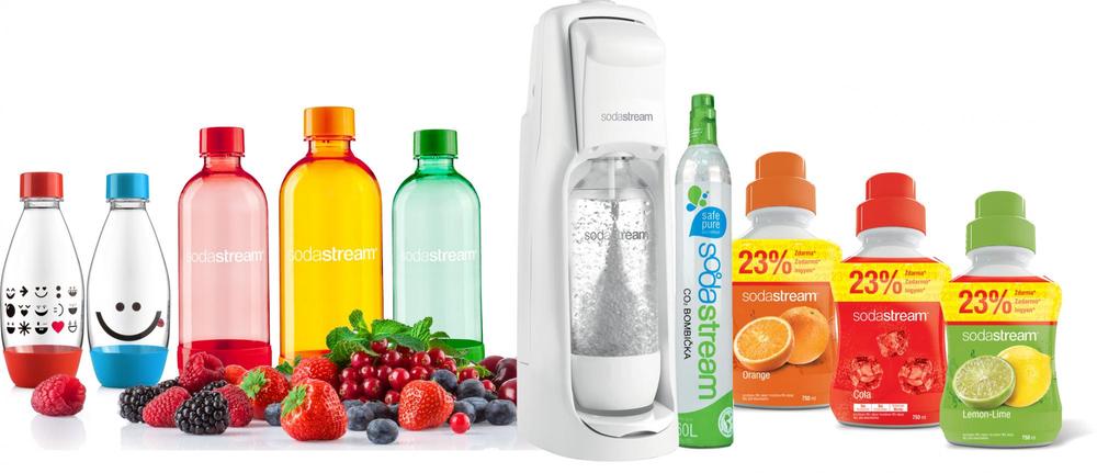 SodaStream JET WHITE Family Pack