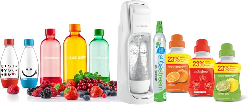 Sodastream SADA SHOP JET WHITE FAMILY PACK