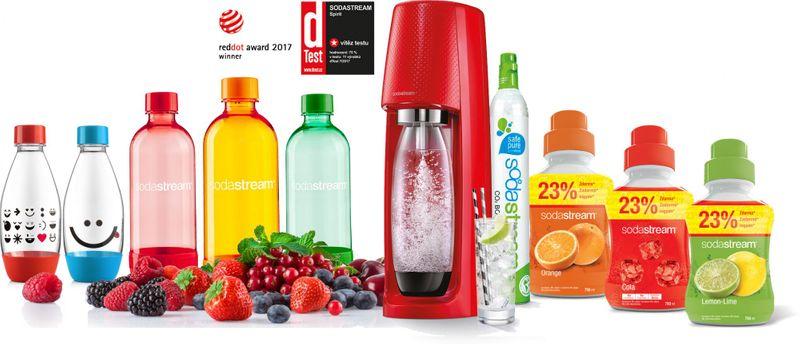 Sodastream SPIRIT RED Family Pack
