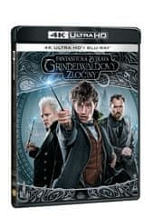 Fantastická zvířata: Grindelwaldovy zločiny (2 disky) - Blu-ray + 4K Ultra HD