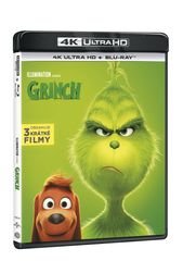 Grinch (2 disky) - Blu-ray + 4K Ultra HD