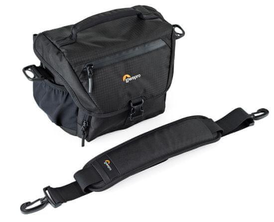 Lowepro naramna torba Nova 160 AW II, črna