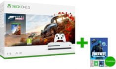 Microsoft Xbox One S 1TB + Forza Horizon 4 + Fortnite the Cobalt Pack