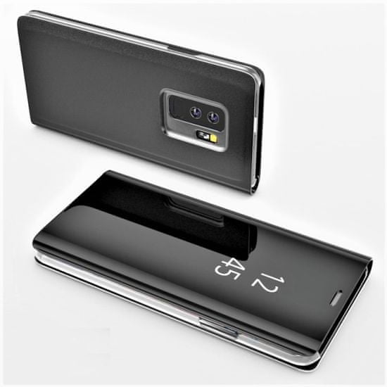 Onasi Clear View za Samsung Galaxy J4 Plus 2018 J415 - črna