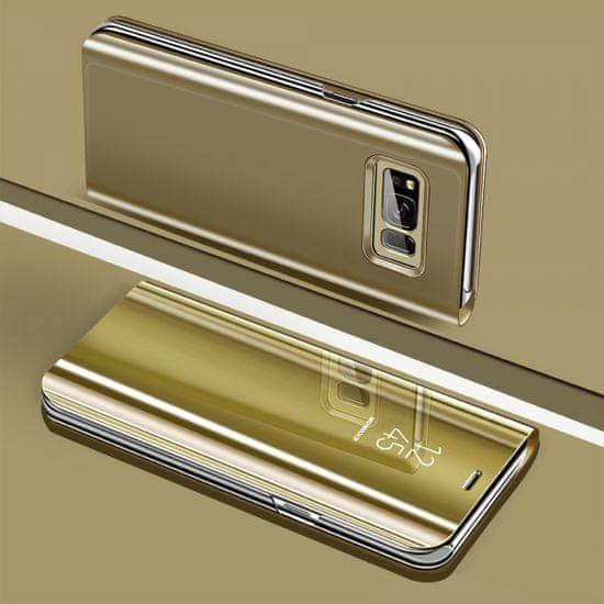 Onasi Clear View za Samsung Galaxy J4 Plus 2018 J415 - zlata