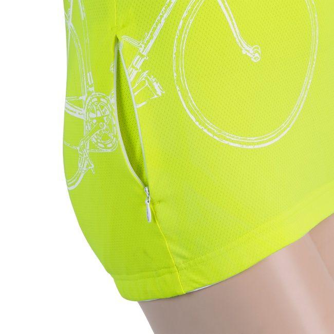 Sensor Tour dámský dres kr.rukáv reflex žlutá -M