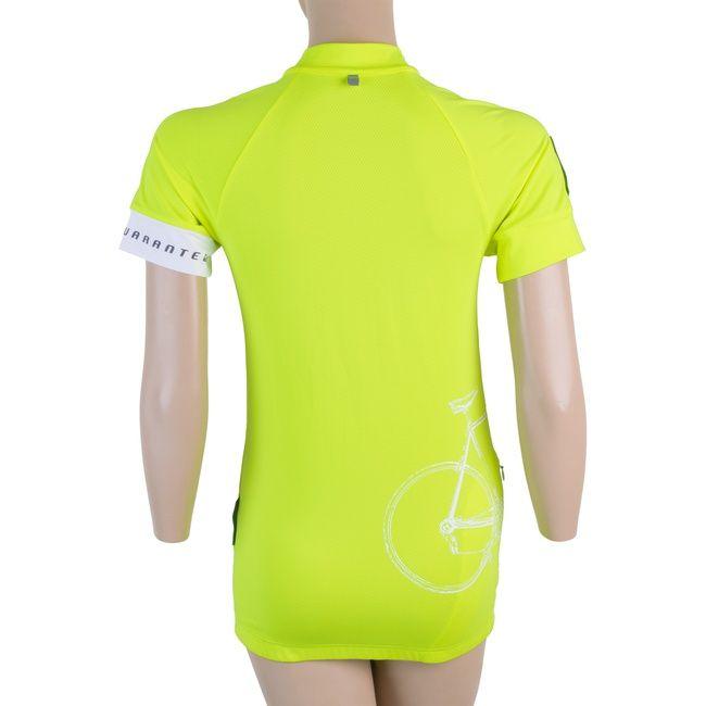 Sensor Tour dámský dres kr.rukáv reflex žlutá -S