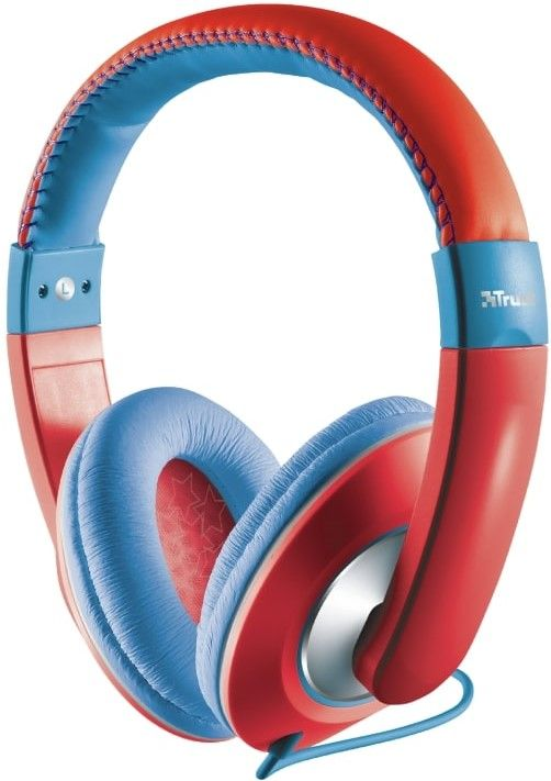 Trust Sonin Kids, modro-červená