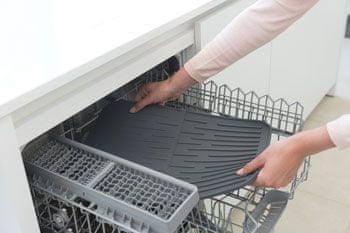 Brabantia odcejalnik za posodo, siv