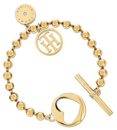 Tommy Hilfiger Luxusné oceľový náramok so srdcom TH2701103