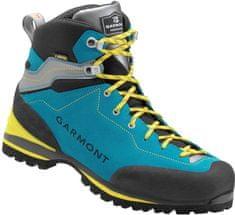 Garmont moški pohodniški čevlji Ascent Gtx Aqua Blue/Light Grey, 10,5 (EU 45) - Odprta embalaža