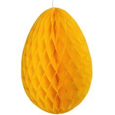 Butlers EASTER Papírová dekorační kraslice - žlutá