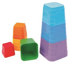 Bino zabawka - piramida z foremek