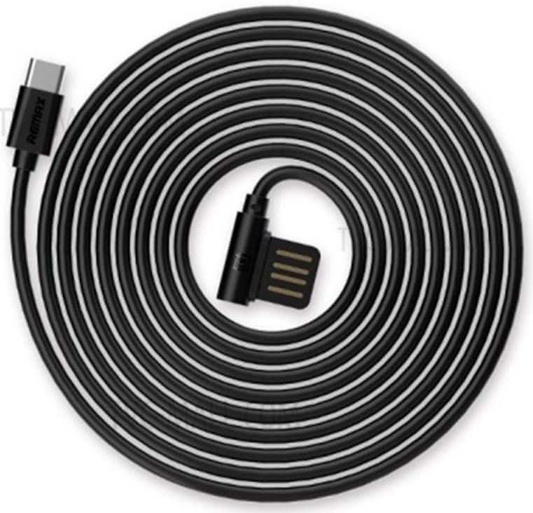REMAX RC-075a datový kabel Type C, černý AA-7076