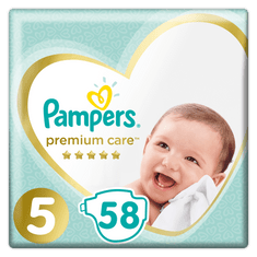 Pampers Pleny PremiumCare 5 Junior - 11-16 kg, 58 ks