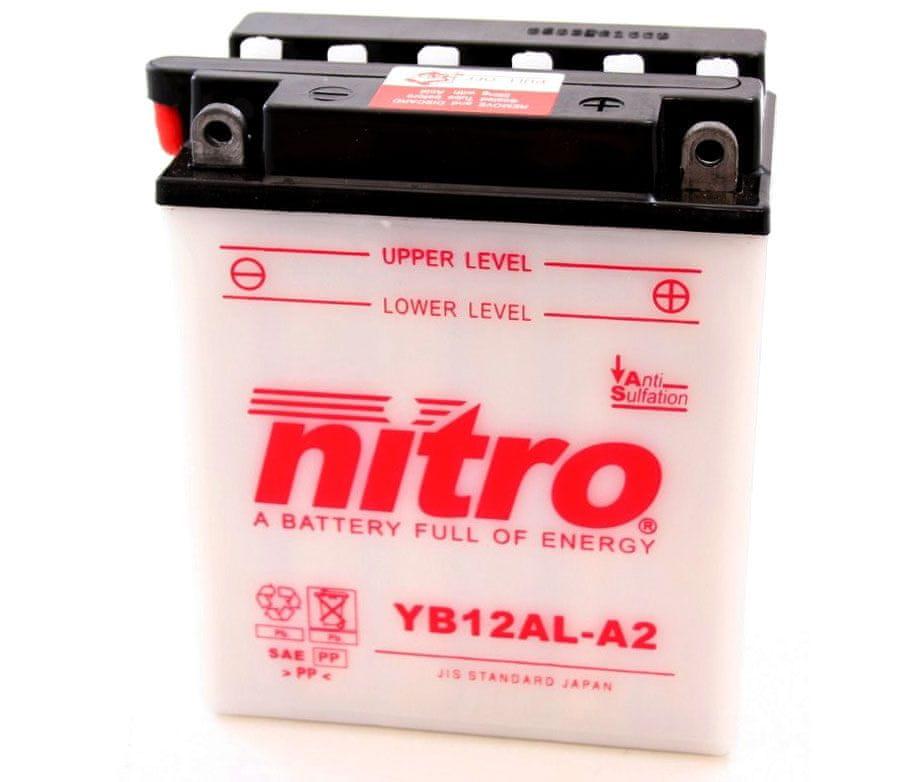 Nitro baterie YB12AL-A2-N