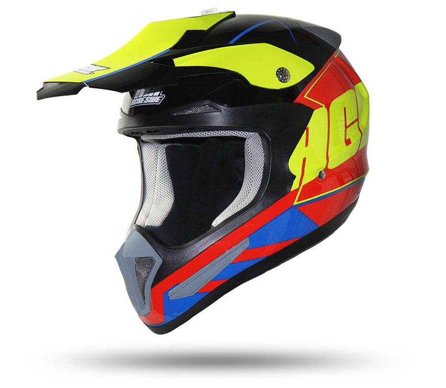 MX Agresive MXH 17102 Jumper red/blue/yellow