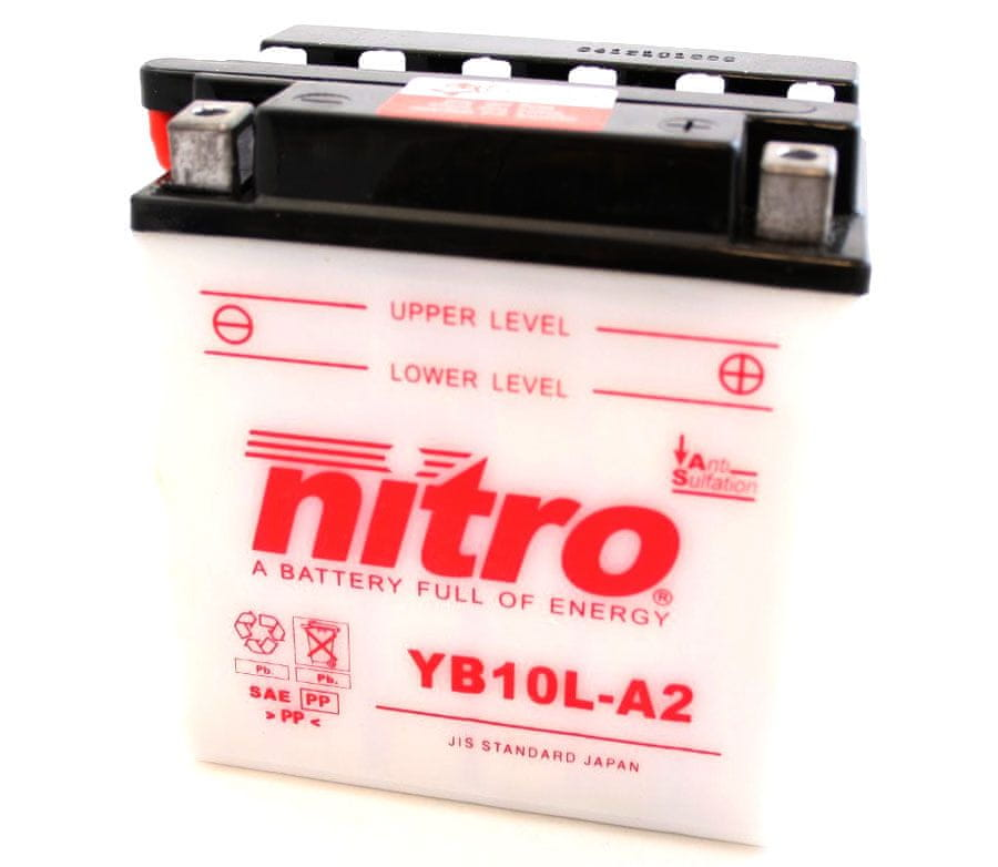 Nitro baterie YB10L-A2-N