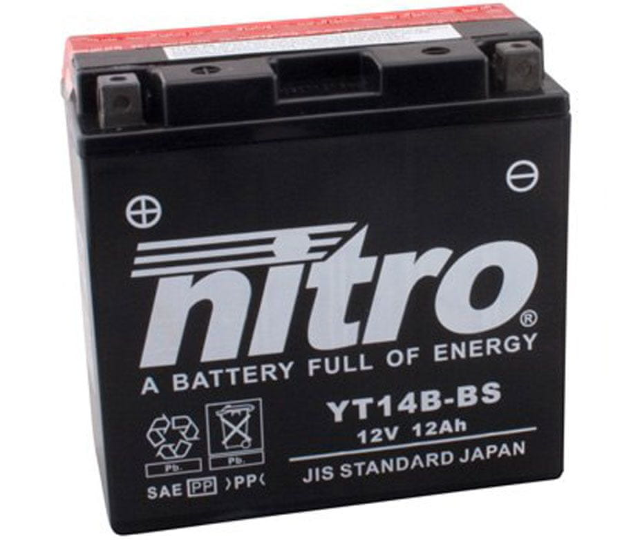Nitro baterie YT14B-BS-N