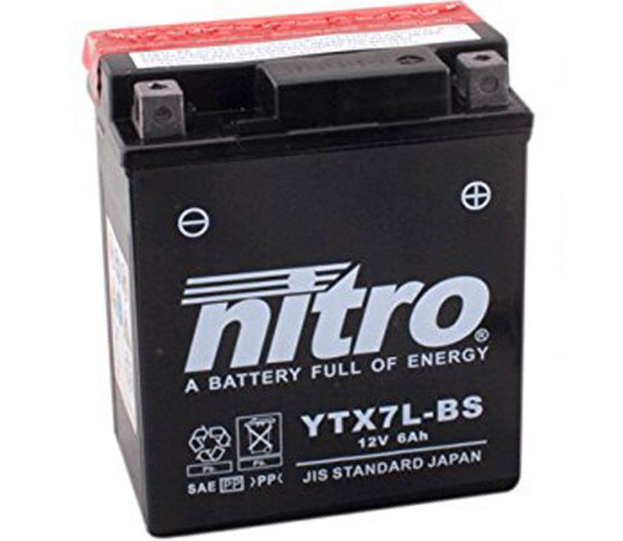Nitro baterie YTX7L-BS-N